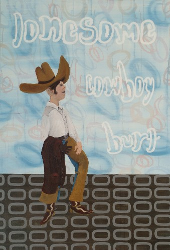 Ragone Reichardt<strong>Lonesome Cowboy Burt</strong>2007, 130x90cm