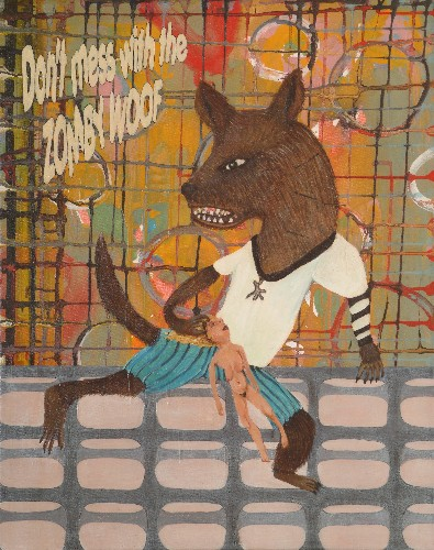 Ragone Reichardt<strong>Zombie woof</strong>2007, 50x40cm