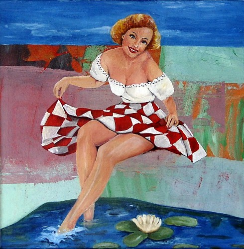 Ragone Reichardt<strong>Tante Tilly am See</strong>2007, 40x40cm