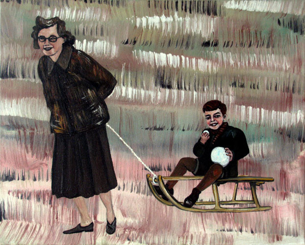 Ragone Reichardt<strong>don´t eat the yellow snow</strong>2010, 40x50cm